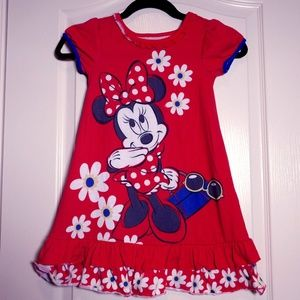 3 for $25! Disney Store Minnie Mouse Nightgown 5/6